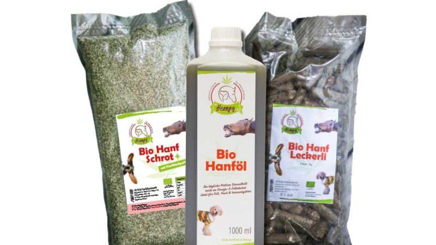Hanfprodukte dienen der Pferdegesundheit